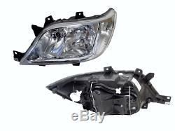 Headlight Left Side With Fog Light For Mercedes Sprinter W902-W905 2000-2006