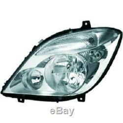 Headlight Set Mercedes Sprinter II 06- mit Fog Light H7+H7+H7 AZ6