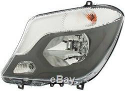 Hella Left Headlight Headlamp 1ed 011 030-111 P New Oe Replacement