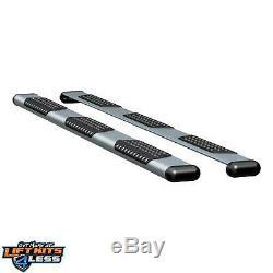 Luverne 583098-570745 Silver O-Mega II 6 Oval Side Steps for 07-17 Sprinter2500