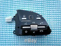 MERCEDES 18-19 A220 C300 E300 G550 CONTROL BUTTON SWITCHES SET/PAIR black/chrome