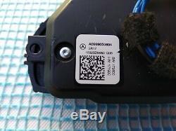 MERCEDES A W177 C W205 E W213 CLS C258 G CONTROL BUTTON SWITCHES SET/PAIR chrome