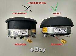 MERCEDES BENZ A220 C300 E300 G550 SPRINTER STEERING WHEEL AIRBAG non sport (1)