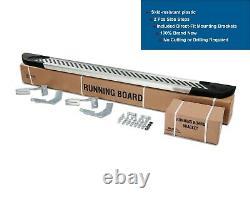 MERCEDES SPRINTER LWB 2007-2018 Alu Side Step SET Nerf Bars Running Boards 2PCS
