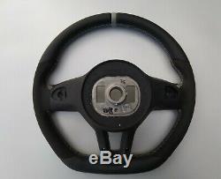 Mercedes Benz A220 C300 E300 G550 Alcantara Ergonomic Inlays Steering Wheel Flat