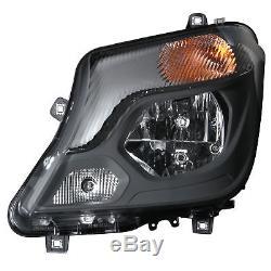 Mercedes-Benz Hella 1EJ 011 030-131 Left Passenger Side NS Headlamp Halogen