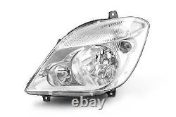 Mercedes-Benz Sprinter 06-13 Headlight Headlamp Left Passenger Near Side N/S