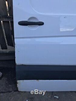 Mercedes Sprinter 2009 Side Loading Sliding Door In White Up To 2018 Breaking