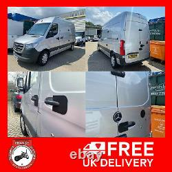 Mercedes Sprinter 2018 Rear And Side Handle Shields