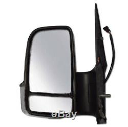 Mercedes Sprinter 2500 3500 Side Mirror Manual Left & Right Set 2007 2017 AW906