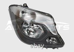 Mercedes Sprinter Front Headlight Lamp Offside Drivers Side Complete 2013 2018