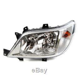 Mercedes Sprinter Hella Headlamp Headlight Halogen Left N/S Passenger Side