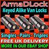 Mercedes Sprinter High Security Van Door Hasp Dead Locks Mul-t-lock Armadlock