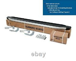 Mercedes Sprinter Lwb 2004-2006 Aluminum Side Steps Running Boards Nerf Bar 2pcs