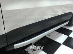 Mercedes Sprinter Lwb 2007-2018 Aluminum Side Steps Running Boards Nerf Bar 2pcs