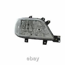Mercedes Sprinter Mk1 Van 2003-2006 Headlight Headlamp No Fog Drivers Side O/S