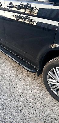 Mercedes Sprinter Mwb 2006-2014 Running Board Side Steps Bar Stylish Design