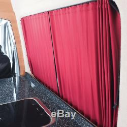 Mercedes Sprinter Premium 2 x Side Window Curtains Van-X