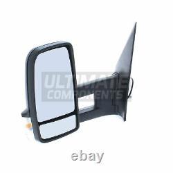 Mercedes Sprinter Van 2006-2019 Manual Long Arm Wing Door Mirror Passenger Side