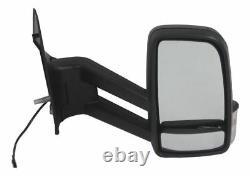 Mercedes Sprinter Van 2006- Electric Long Arm Wing Door Mirror Drivers Side O/S