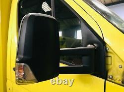 Mercedes Sprinter Volkswagen Crafter Driver Off Side Mirror Extra Long Arm