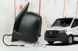 Mercedes Sprinter W907 2019-2021 Left Driver Side Door Powered Mirror + Signal