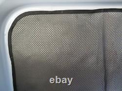 Mercedes Sprinter rear quarter plastic trim privacy curtains magnetic insulated