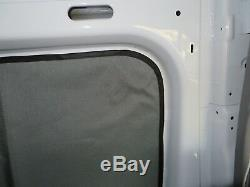 Mercedes Sprinter rear side window privacy curtains magnetic insulated Cordura