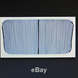 Mercedes Sprinter (vw Lt) Side & Rear Window Curtain Set 7 Pair Of Curtains Grey