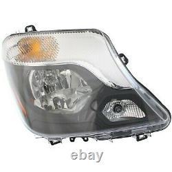 New Headlight Lamp Driver & Passenger Side for Mercedes MB2502221C, MB2503221C