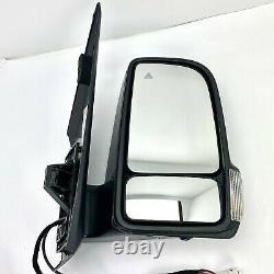 OEM Passenger Side Mirror 2019 2020 Mercedes Sprinter 1500 2500 13 Wire w Camera