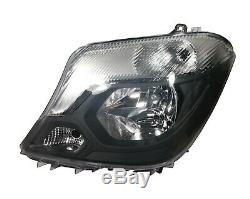 Pair For Mercedes Sprinter 2013+ W906 Front Headlights Lamps O/S + N/S Side Rhd