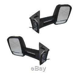 Pair of Side View Tow Mirrors Fit 2007- 2013 Mercedes-Benz Sprinter withSignal