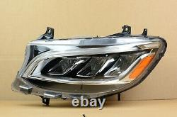 Perfect! 19 20 21 Mercedes Benz Sprinter LED Headlight Left LH Driver Side OEM