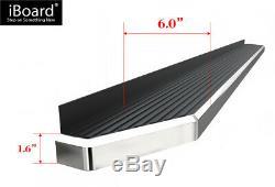 Polished 6 iBoard Side Step Bar Fit 10-19 Dodge Mercedes-Benz Sprinter