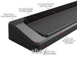 Premium 6 Black iBoard Side Steps Fit 10-18 Dodge Mercedes-Benz Sprinter