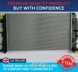 RADIATOR TO FIT MERCEDES SPRINTER W906 2006 TO 2018 10mm PIPE DRIVER SIDE ONLY