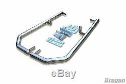 Rear Corner Bar For Mercedes Sprinter L4 2006 2014 Polished Stainless Steel