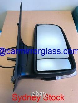 Right Side Door Mirror For Mercedes Benz Sprinter 2006 2013 Manual Adjustment