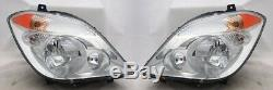 Right and Left Side Headlight PAIR For 07-08 Dodge/10-13 Mercedes Sprinter Van