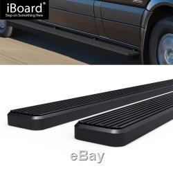Running Board Side Step 5in Black Fit Dodge / Mercedes-Benz Sprinter 10-19