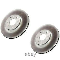 SET-CE32035108-2 Centric 2-Wheel Set Brake Discs Rear Driver & Passenger Side