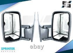 SPRINTER SIDE MIRROR LEFT / RIGHT ASSEMBLY PAIR fits MERCEDES DODGE 1995 2006