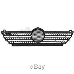Set Bumper Front Grey Incl. Grille Bracket Mercedes Sprinter 901-905 Built 00-06