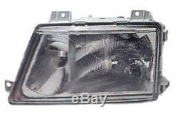 Sprinter HEADLIGHT Lens Glass LEFT Driver Side Halogen fits Mercedes 1995 2006