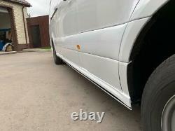 Sprinter W907 2020 Side skirts ABS Plastic Unpainted Mercedes Benz 2019 2020 21