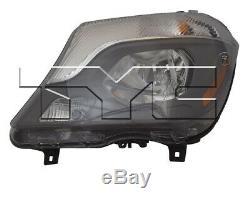 TYC Left Side Halogen Headlight for Mercedes-Benz Sprinter 2500 3500 2014-2016