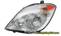 TYC Left Side Headlight Assembly for Dodge & Mercedes Benz Sprinter 2500 3500