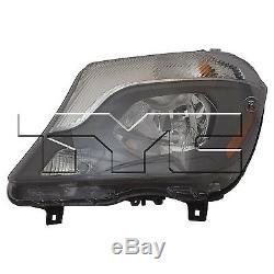 TYC NSF Left Side Halogen Headlight Assy Mercedes Sprinter Van 2014-2016 Models
