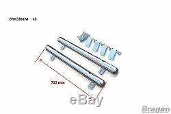 To Fit 06 14 L3 M LWB Mercedes Sprinter Stainless Steel Rear Of Wheel Side Bar